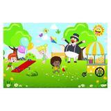 Painel de festa Infantil Mundo Bita Parque 1.50m X 1.00m - Wrio