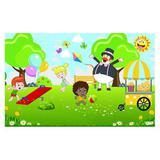 Painel de festa Infantil Mundo Bita Parque 1.80m X 1.30m - Wrio