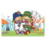 Painel de festa Infantil Patati Patata 1.50m X 1.00m - Wrio