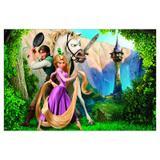 Painel de festa Infantil Rapunzel  2.50m X 1.50m - Wrio