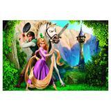 Painel de festa Infantil Rapunzel 3.00m X 1.70m - Wrio