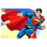 Painel de festa Infantil Super Man 1.80m X 1.30m - Wrio