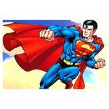 Painel de festa Infantil  Super Man 2.00m X 1.40m - Wrio