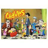 Painel de festa Infantil Turma do Chaves 1.50m X 1.00m - Wrio
