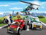 Painel de Festa Lego City Polícia 01 - Colormyhome