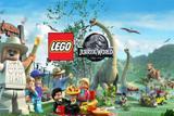 Painel de Festa Lego Jurassic World 05 - Colormyhome