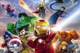 Painel de Festa Lego Vingadores 01 - Colormyhome