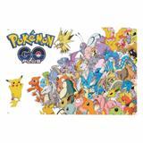 Painel de Festa lona - Pokemon - L089 - Inove adesivos