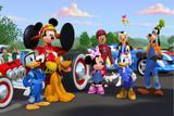 Painel De Festa Mickey Aventuras sobre Rodas 03 - Colormyhome