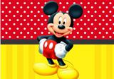 Painel de Festa Mickey Mouse 03 - Colormyhome