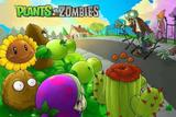 Painel de Festa Plants Vs Zombies 01 - Colormyhome