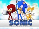 Painel de Festa Sonic 05 - Colormyhome
