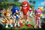 Painel de Festa Sonic Boom 02 - Colormyhome