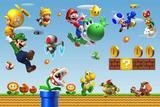 Painel de Festa Super Mario Bross 01 - Colormyhome