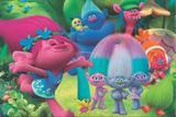 Painel de Festa Trolls 04 - Colormyhome