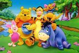 Painel de Festa Ursinho Pooh 03 - Colormyhome
