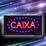Painel De Led Letreiro Luminoso Placa Caixa - 110v - Mm