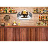 Painel De Lona Boteco 02 - Fabrika de festa