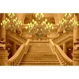 Painel  de Tecido Sublimado Escadaria Real Lustres - Fabrika de festa