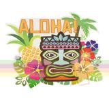 Painel Decorativo Aloha Festa Havaiana Paper Fest - Festabox