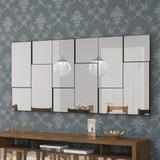 Painel Decorativo com Espelhos 180x90cm TB97 Dalla Costa