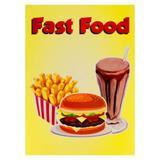 Painel Decorativo Fast Food - Festabox