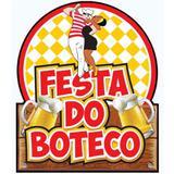 Painel Decorativo Festa Boteco Festança