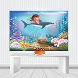 Painel Decorativo Festa Infantil 1,80 M x 1,30 M Lona Fosca - Geral