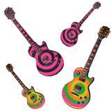 Painel Decorativo Guitarras Neon Festança - Festabox