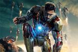 Painel decorativo Homem de Ferro  150x100cm - X4adesivos