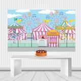 Painel Decorativo Infantil 1,50 por 1,00 M Modelos 2019 - Wrio festas