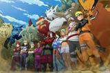 Painel decorativo Naruto  150x100cm - X4adesivos