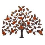 Painel em Ferro Retrô em Árvore Para Decoração de Parede de Quarto Classico. - Libertas rosas artesanato