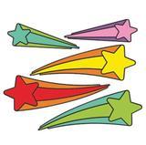 Painel EVA Estrelas com Cauda 05 itens - Festabox