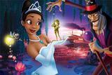 Painel Festa A Princesa e o Sapo 150x100cm - X4adesivos