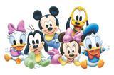 Painel Festa Baby Disney  150x100cm - X4adesivos
