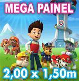 Painel Festa Banner Decorativo Lona 200x150 Envio 24h - X4adesivos