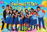 Painel Festa Chiquititas  150x100cm - X4adesivos