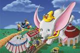 Painel Festa Dumbo  150x100cm - X4adesivos