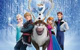 Painel Festa Frozen  150x100cm - X4adesivos