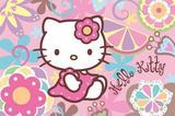 Painel Festa Hello Kitty  150x100cm - X4adesivos