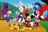 Painel Festa Turma do Mickey  150x100cm - X4adesivos