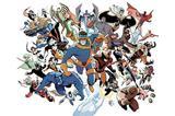 Painel Festa X-Men  150x100cm - X4adesivos