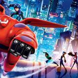 Painel lona Festa Big Hero 6  150x100cm - X4adesivos