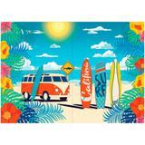 Painel para Decoração Festa Surf Junco - Festabox