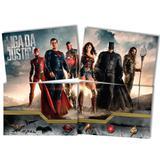 Painel para Decoração Liga da Justiça o Filme Festcolor