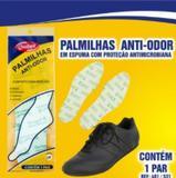 Palmilha de Espuma - Anti Odor Bactericida - Latex de EVA - Tam 42 - Qualype