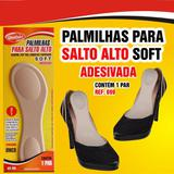 Palmilha para Salto Alto Soft Adesiva Bege - Qualype