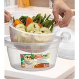Panela de Microondas para cozinhar Legumes a vapor LEGUMIX - Nitron