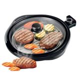 Panela Elétrica Grill Mondial Redondo Smart Grill Teflon G04